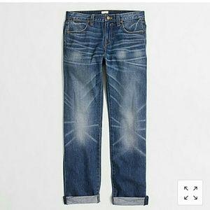 J Crew Boyfriend Jeans